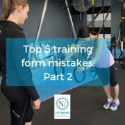 Top 5 training mistakes part 2