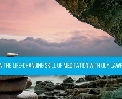 Let it in meditation Guy Lawrence